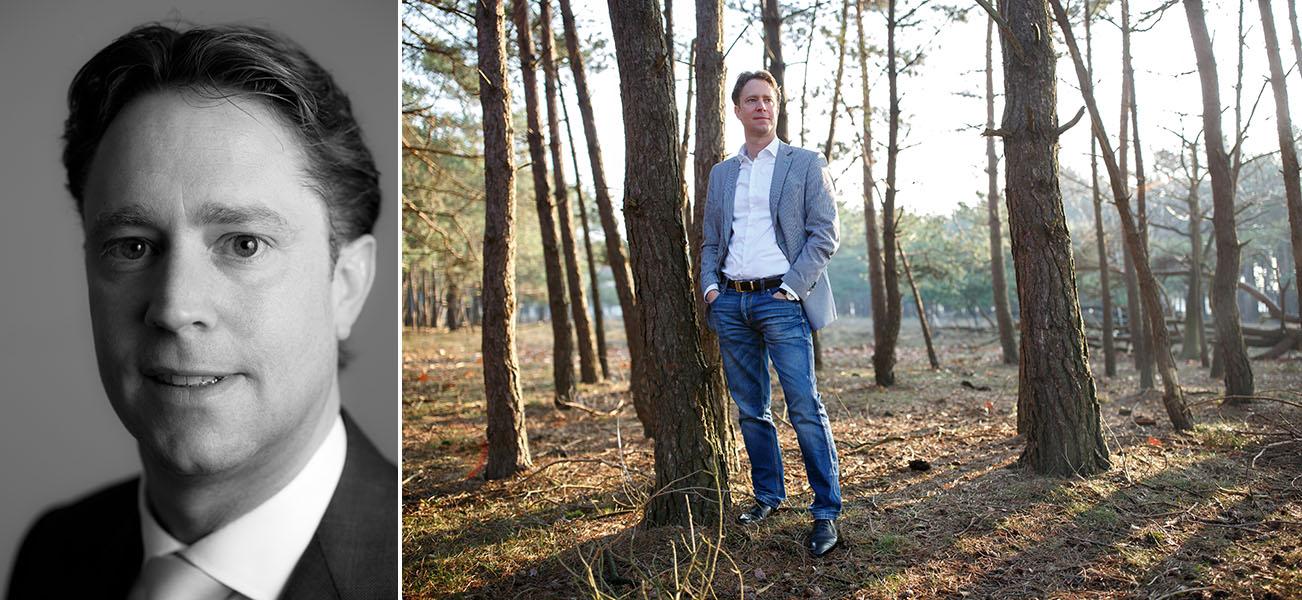 zakelijke portretfoto profielfoto shoot Bussum fotograaf Evert Doorn