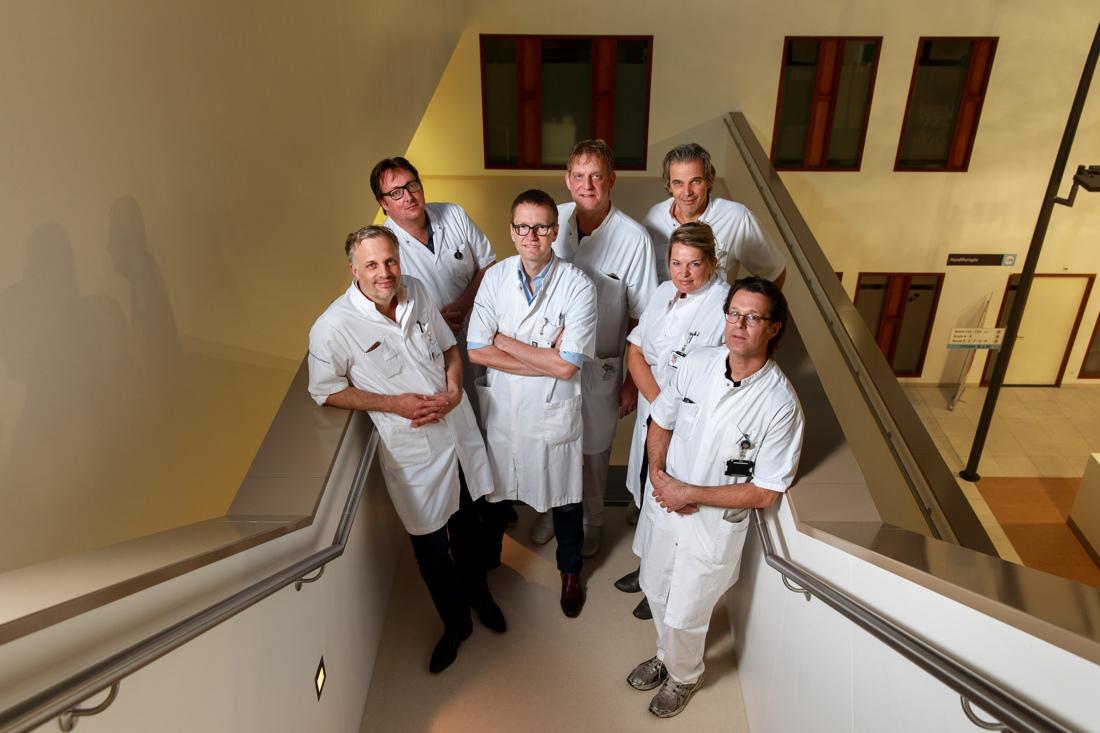 fotoreportage medisch spectrum twente ziekenhuis IC