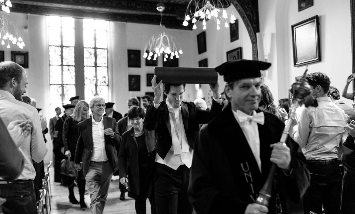 beste promotie fotografie universiteit Uva Agnietenkapel
