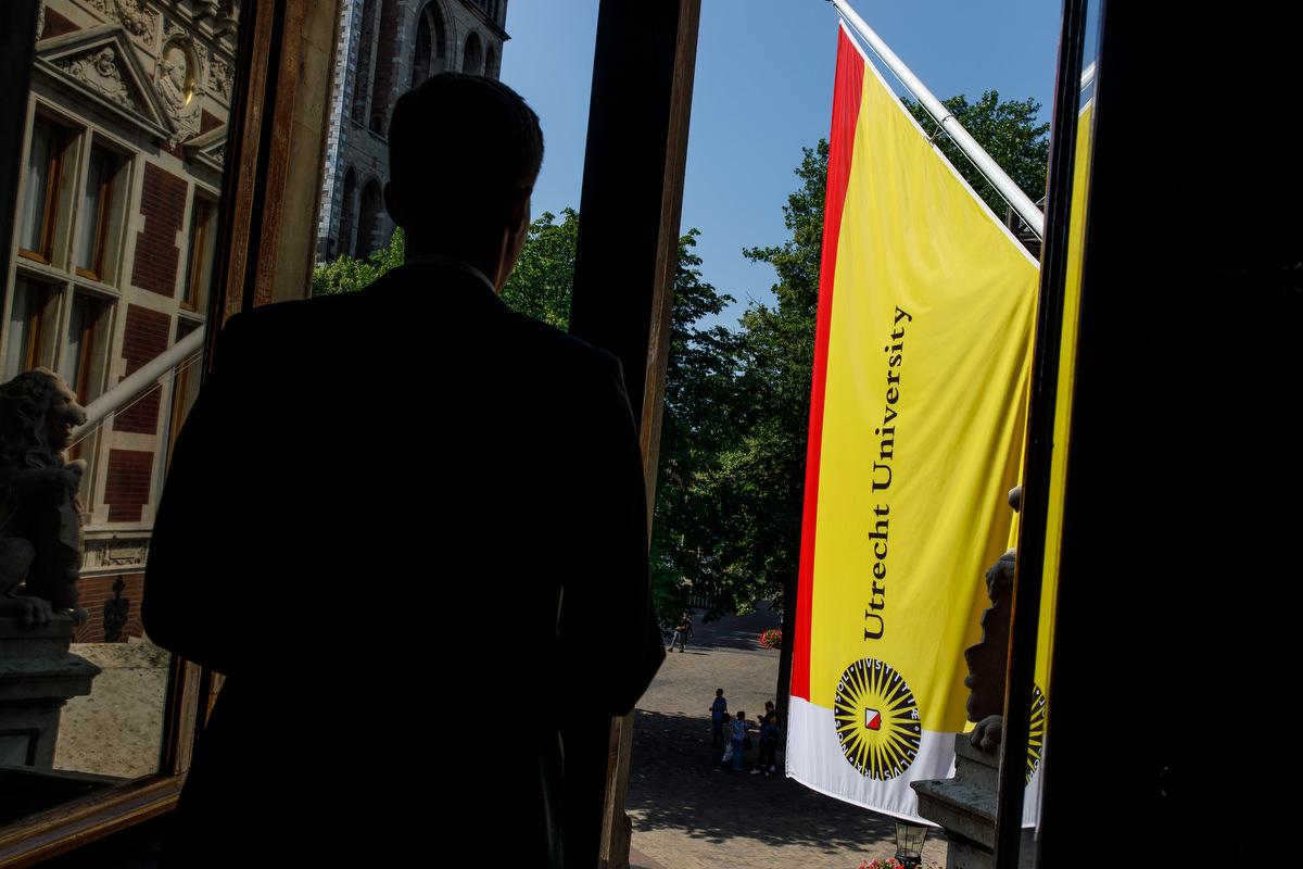 fotograaf promotie UU Utrecht Academiegebouw